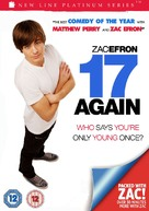 17 Again - British Movie Cover (xs thumbnail)