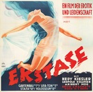 Ekstase - German Movie Poster (xs thumbnail)