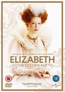 Elizabeth: The Golden Age - British DVD cover (xs thumbnail)