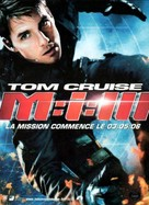 Mission: Impossible III - French Movie Poster (xs thumbnail)
