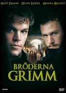 The Brothers Grimm - Swedish DVD movie cover (xs thumbnail)