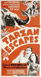 Tarzan Escapes - British Movie Poster (xs thumbnail)
