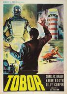 Tobor the Great - Italian Movie Poster (xs thumbnail)