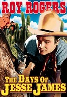 Days of Jesse James - DVD cover (xs thumbnail)