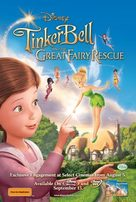 Tinker Bell and the Great Fairy Rescue - Australian Video release poster (xs thumbnail)