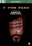 Vérités et mensonges - British DVD cover (xs thumbnail)