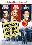 The World, the Flesh and the Devil - Spanish Movie Cover (xs thumbnail)