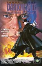 Darkman II: The Return of Durant - Spanish VHS movie cover (xs thumbnail)