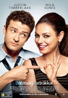 Friends with Benefits - Hungarian Movie Poster (xs thumbnail)