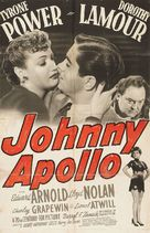Johnny Apollo - Movie Poster (xs thumbnail)