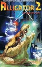 Alligator II: The Mutation - French VHS movie cover (xs thumbnail)