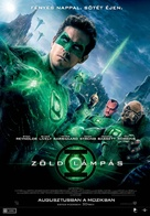 Green Lantern - Hungarian Movie Poster (xs thumbnail)