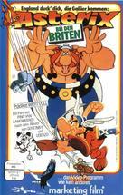 Astérix chez les Bretons - German VHS cover (xs thumbnail)