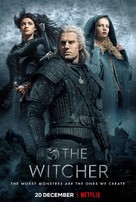 """""""The Witcher"""" - British Movie Poster (xs thumbnail)"""