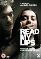 Sur mes lèvres - British DVD cover (xs thumbnail)