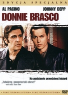 Donnie Brasco - Polish DVD cover (xs thumbnail)