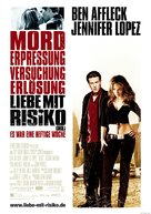 Gigli - German Movie Poster (xs thumbnail)