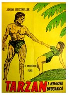 Tarzan and His Mate - Yugoslav Movie Poster (xs thumbnail)