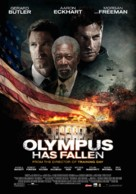 Olympus Has Fallen - Dutch Movie Poster (xs thumbnail)