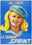 The Fast Lady - Italian Movie Poster (xs thumbnail)