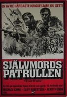 Too Late the Hero - Swedish Movie Poster (xs thumbnail)