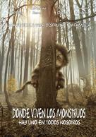 Where the Wild Things Are - Colombian Movie Poster (xs thumbnail)