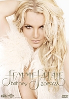 Britney Spears: I Am the Femme Fatale - Spanish DVD cover (xs thumbnail)