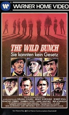 The Wild Bunch - German VHS movie cover (xs thumbnail)