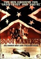 2001 Maniacs - German DVD movie cover (xs thumbnail)