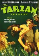 Tarzan and His Mate - Danish Movie Poster (xs thumbnail)