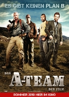 The A-Team - German Movie Poster (xs thumbnail)