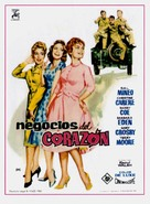 A Private's Affair - Spanish Movie Poster (xs thumbnail)
