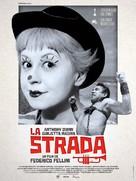 La strada - French Re-release movie poster (xs thumbnail)