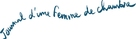 Journal d'une femme de chambre - French Logo (xs thumbnail)