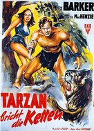 Tarzan and the She-Devil - German Movie Poster (xs thumbnail)