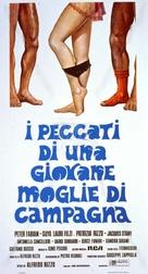 Peccati di una giovane moglie di campagna - Italian Movie Poster (xs thumbnail)