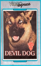 Devil Dog: The Hound of Hell - Finnish VHS movie cover (xs thumbnail)