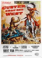 Custer of the West - Italian Movie Poster (xs thumbnail)