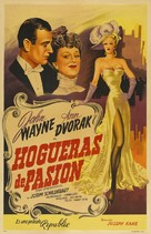Flame of Barbary Coast - Argentinian Movie Poster (xs thumbnail)