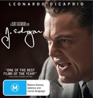 J. Edgar - Australian Blu-Ray movie cover (xs thumbnail)
