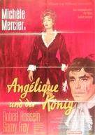 Angélique et le roy - German Movie Poster (xs thumbnail)