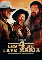 I quattro dell'Ave Maria - French DVD movie cover (xs thumbnail)