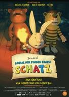Komm, wir finden einen Schatz - German Movie Poster (xs thumbnail)
