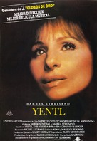 Yentl - Spanish Movie Poster (xs thumbnail)