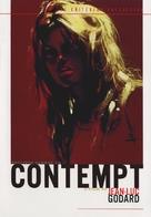 Le mépris - DVD movie cover (xs thumbnail)