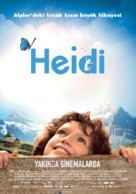 Heidi - Turkish Movie Poster (xs thumbnail)