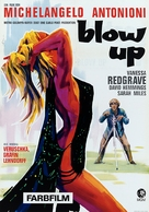 Blowup - German Movie Poster (xs thumbnail)