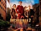 Anchorman 2: The Legend Continues - British Movie Poster (xs thumbnail)