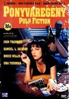 Pulp Fiction - Hungarian DVD movie cover (xs thumbnail)