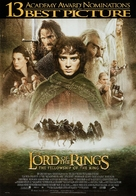 The Lord of the Rings: The Fellowship of the Ring - Canadian Movie Poster (xs thumbnail)
